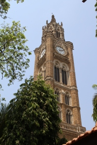 Clock tower at Mumbai University