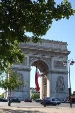 Morning at Arc de Triomphe