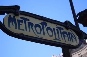Paris subway is easy and inexpensive