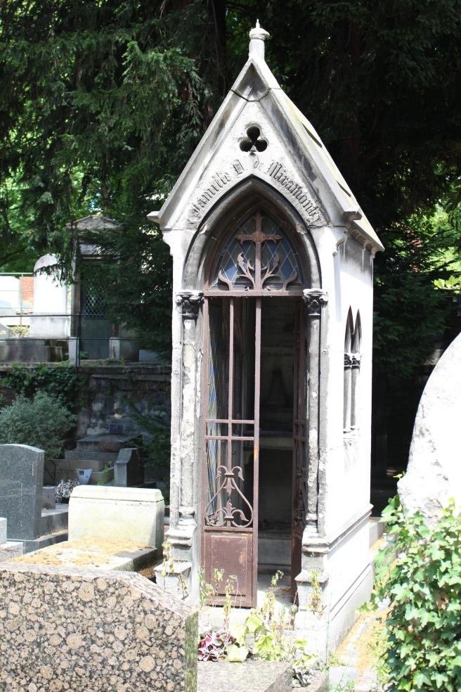 Tomb in Montmontre Cemetary