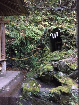 Shrine on the way up Mt. Takao